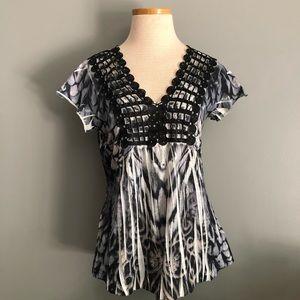 Crochet Tie Dye Top 🛍by Apt 9